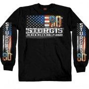 HDT-2894-LG スタージス2020記念  オフィシャル長袖Tシャツ USA