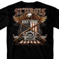 HDT-1787-ST スタージス2019記念 オフィシャル半袖Tシャツ イーグル