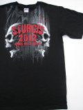 HDT-522-ST スタージス2012記念 オフィシャル半袖Tシャツ ド派手ダブルドクロ柄