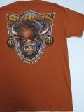 HDT-542-ST スタージス2014記念 オフィシャル半袖Tシャツ オレンジ M