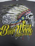 T-750 デイトナ2015記念 BIKE WEEK オフィシャル半袖Tシャツ グレー L