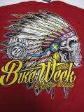 T-751 デイトナ2015記念 BIKE WEEK オフィシャル半袖Tシャツ レッド