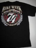 T-786 デイトナ2015年 記念 BIKE WEEK オフィシャル半袖Tシャツ デイトナイーグル