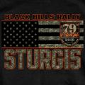 HDT-1791-ST スタージス2019記念 オフィシャル半袖Tシャツ U.S.A