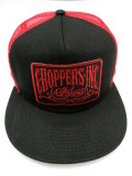 BCA-1014  Official Choppers Inc Red Logo スナップバック ボールキャップ