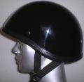 AAA-831-BBYアウトレット装飾品ヘルメット バットボーン ダブルストラップ 黒