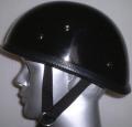 AAA-821Y-DT アウトレット装飾品ヘルメット ダックテール ダブルストラップ 黒