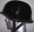 AA-15461-GY5F 極上アウトレット装飾品ヘルメット ビッグジャーマン 黒 ダブルストラップ フリーサイズ