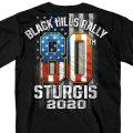 HDT-1894-ST スタージス2020記念 オフィシャル 半袖Tシャツ USA
