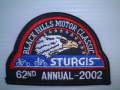 STW-21-02 スタージス2002記念ワッペン