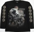 T-196GC-LG 暗闇で光る長袖Tシャツ