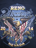 T-716 リノ ラリー2014記念  半袖Tシャツ RENO NEVADA 黒 L