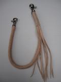 WOR-316 ウォレットロープ 8ツ編み ナチュラル