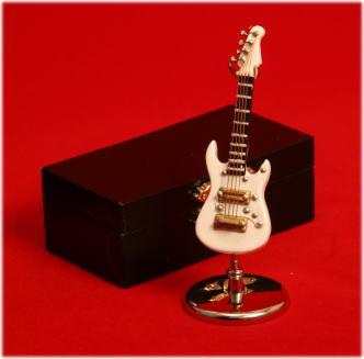 エレキギター GE34 7cm WH