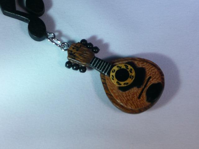木製 マンドリン 楽器ストラップ Bシリーズ