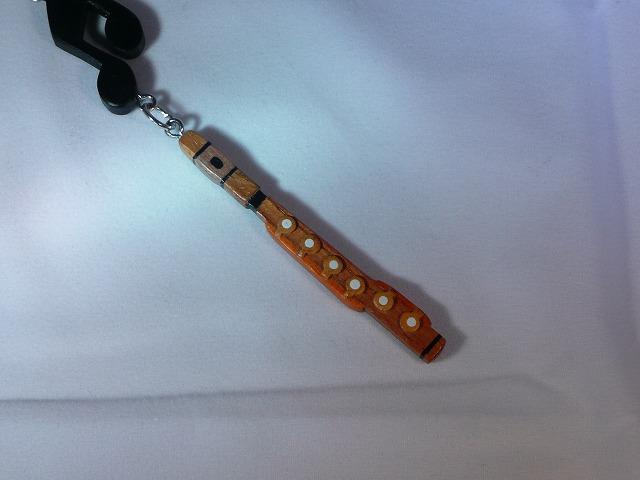 木製 フルート 楽器ストラップ Bシリーズ