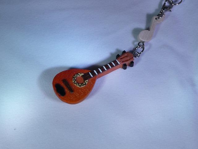 木製 マンドリン 楽器ストラップ Aシリーズ