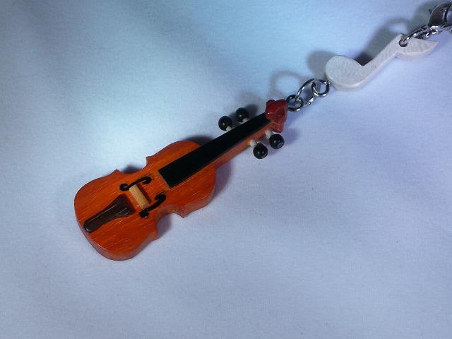 木製 バイオリン 楽器ストラップ Aシリーズ