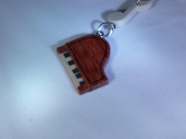 木製 ピアノ 楽器ストラップ Aシリーズ