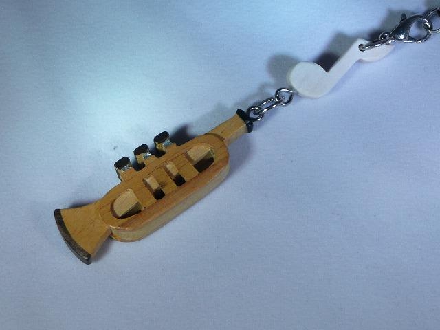 木製 トランペット 楽器ストラップ Aシリーズ
