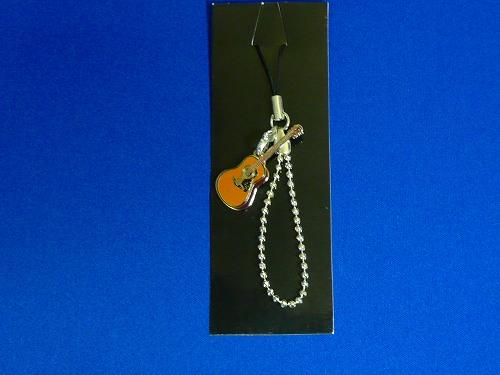 フォークギター ダイヤチェーンストラップ