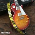 ミニチュアギター用ストラップ  POLICE LINEミニギターストラップ