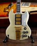 ミニチュア ギター ギブソン  1964 SG Custom White   AXE HEAVEN