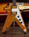 ミニチュア ギター ギブソン  1958 Korina Flying V    AXE HEAVEN
