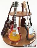 展示品 ミニチュア楽器 Axe Heaven 1/4スケール用ギター展示台