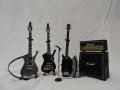 ミニチュア楽器 KISSギター4点セット 公認ギター