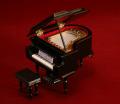 グランドピアノ 9cm 黒