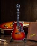 ミニチュア ギター ギブソン  Hummingbirdt  Vintage Cherry Sunburst   AXE HEAVEN