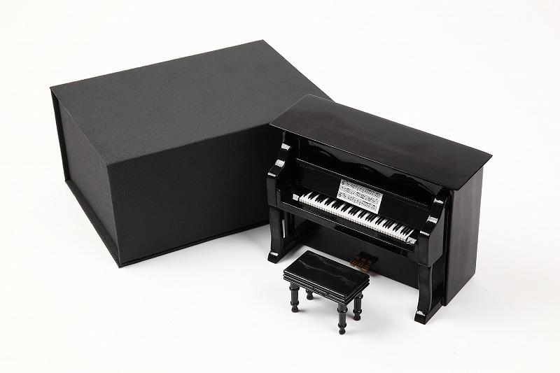 アップライトピアノ 14.5cm 黒