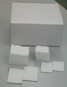 WJ化粧用カット綿 500g (6cm×8cm 枚数:約560枚) 20箱セット
