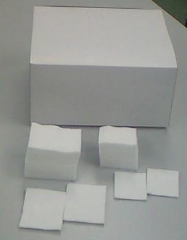 WJ化粧用カット綿 500g (8cm×8cm 枚数:約420枚) 20箱セット