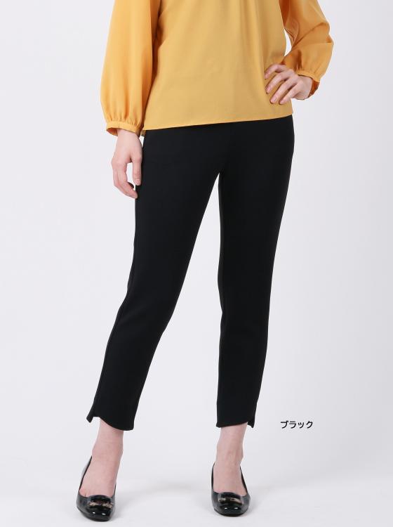 【P2<ピーツー>】スリミングカットスリムパンツ【日本製】