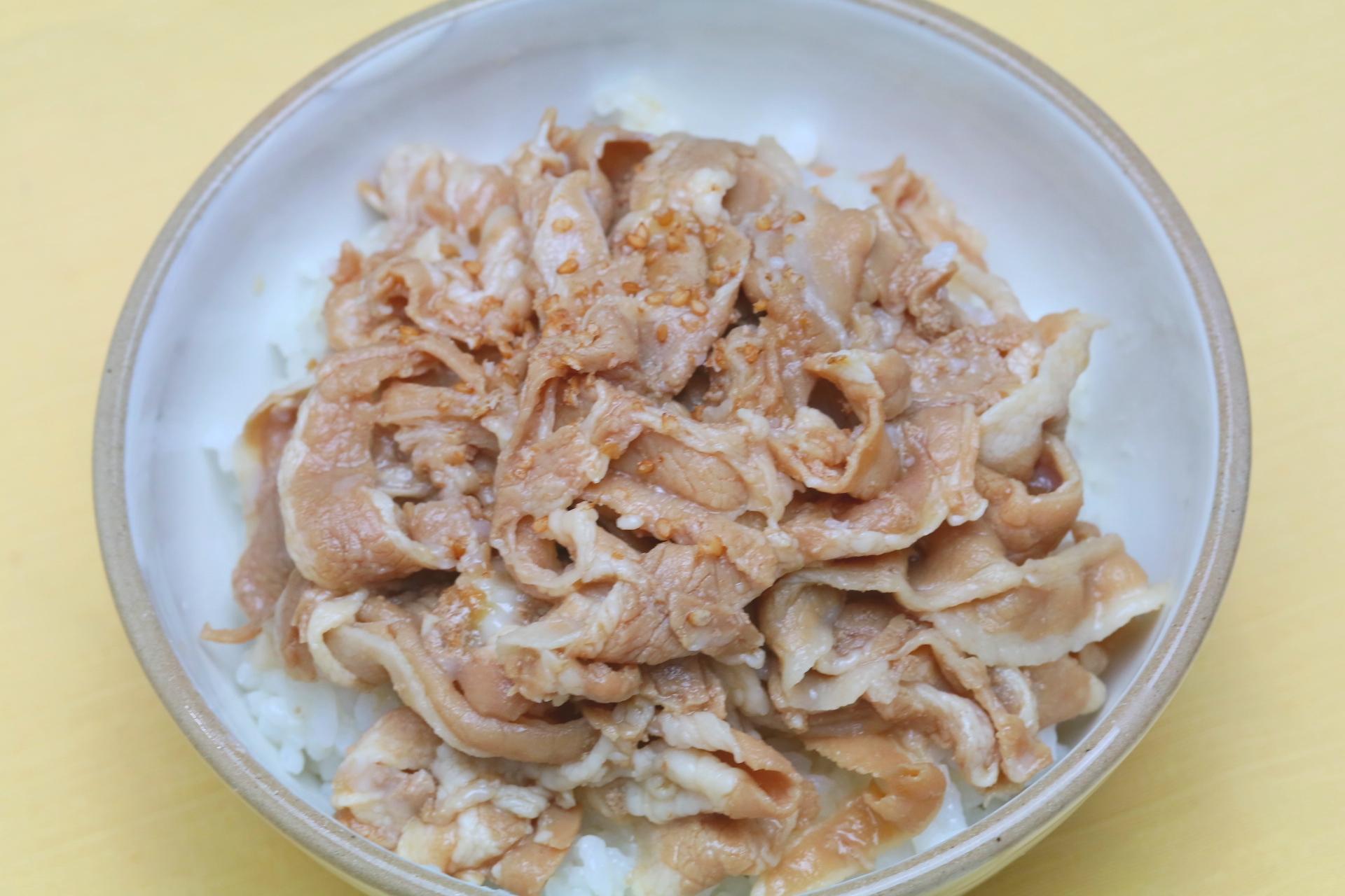 プレミアム豚丼