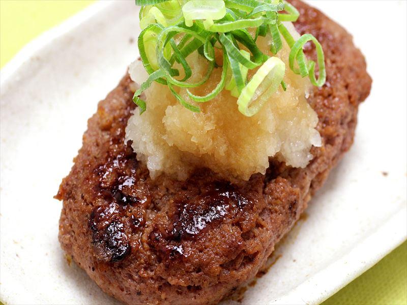 【自家製ポン酢】鶏肉と有機豆腐の自家製ハンバーグ おろしポン酢