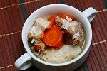 【豚の旨味】自家製ベーコンと根菜のスープ煮