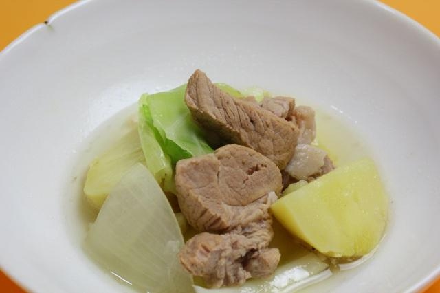 【スープが旨い】安全飼育豚と野菜のポトフ