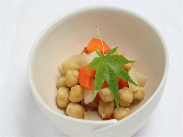 ほっこりひよこ豆のベジブロス煮
