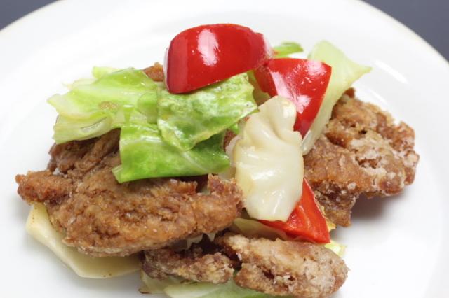 【胃もたれなし】大豆ミートと季節野菜のさっと炒め