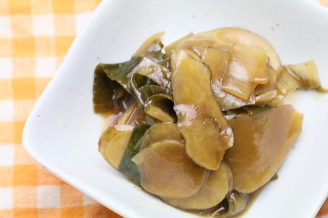 菊芋と太葱の炒め煮