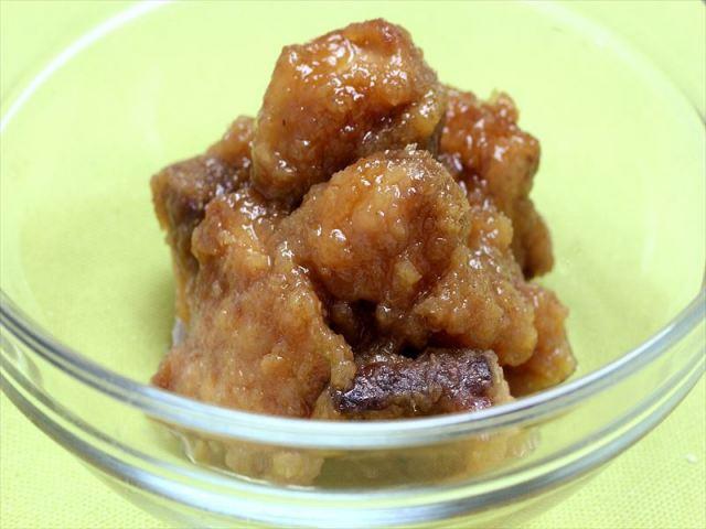 安全鶏の唐揚げ 中華風ソース