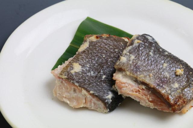 【焼魚の王道】天然鮭の寺田本家酒粕焼き