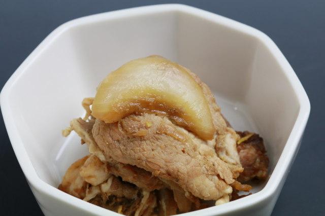 【お弁当のおかず】いさむポークのマリネ生姜焼き