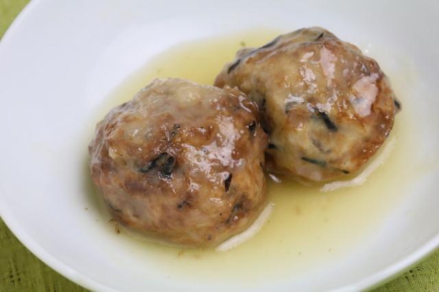 【動物性食品不使用】ベジ飛竜頭の煮物