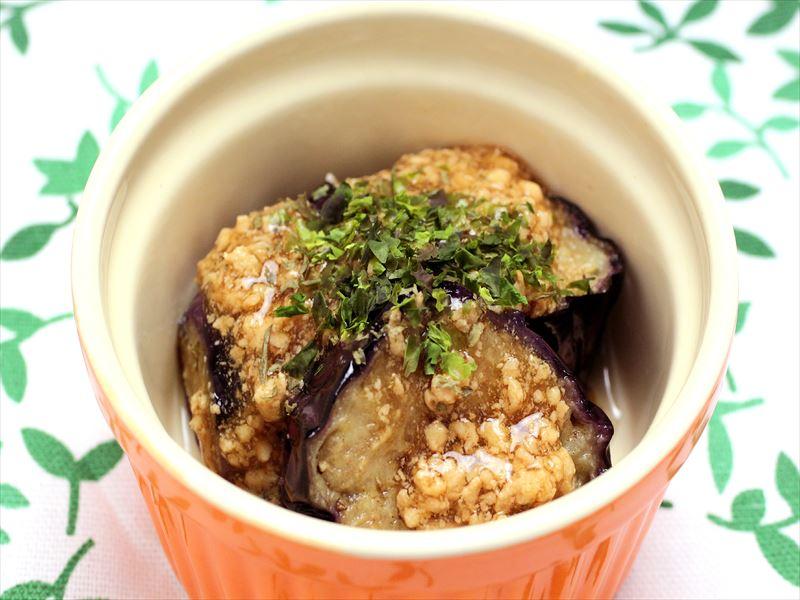 【ご飯にぴったり】ジューシー茄子の鶏そぼろあん
