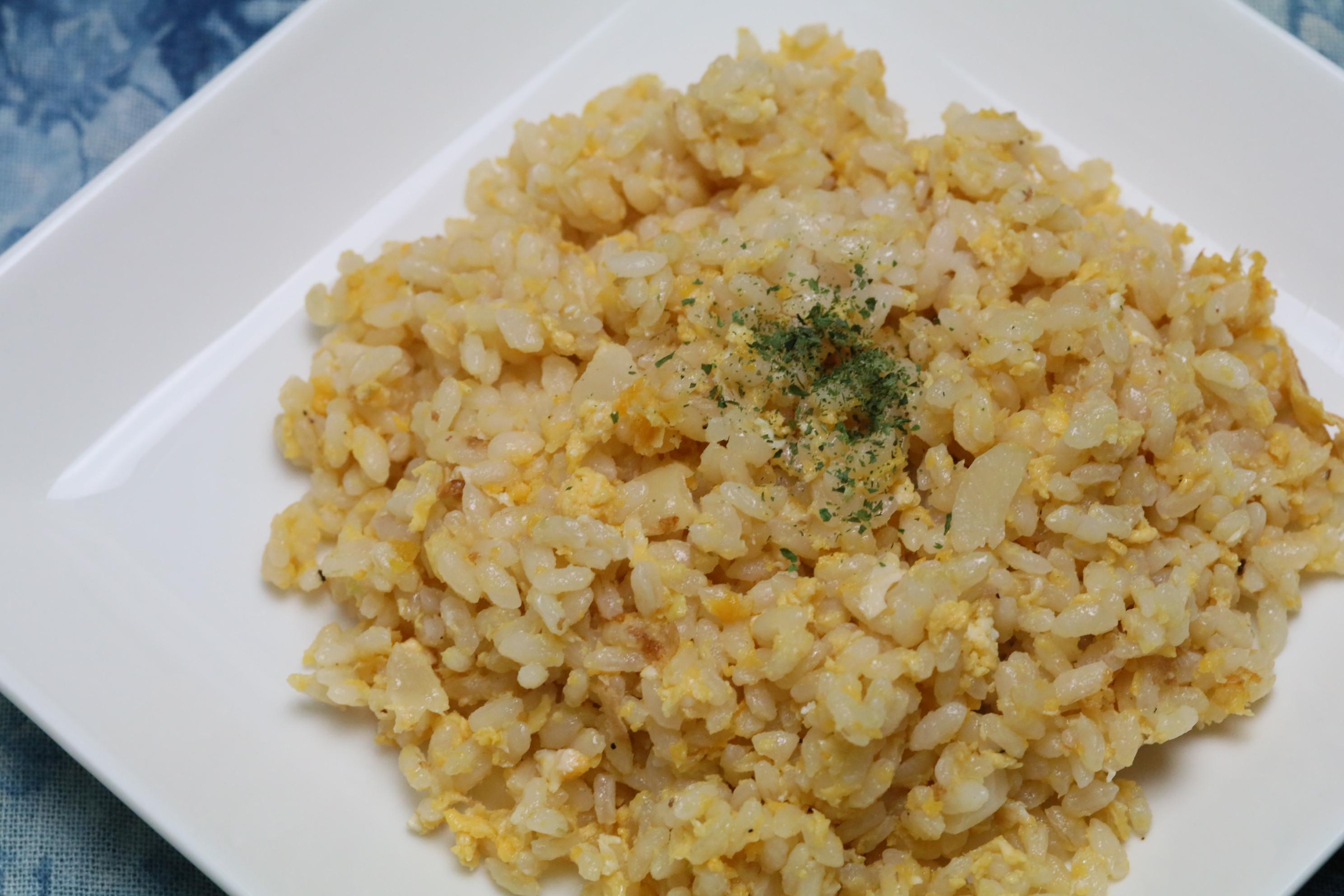 【胚芽米使用】にんにくと玉子のチャーハン