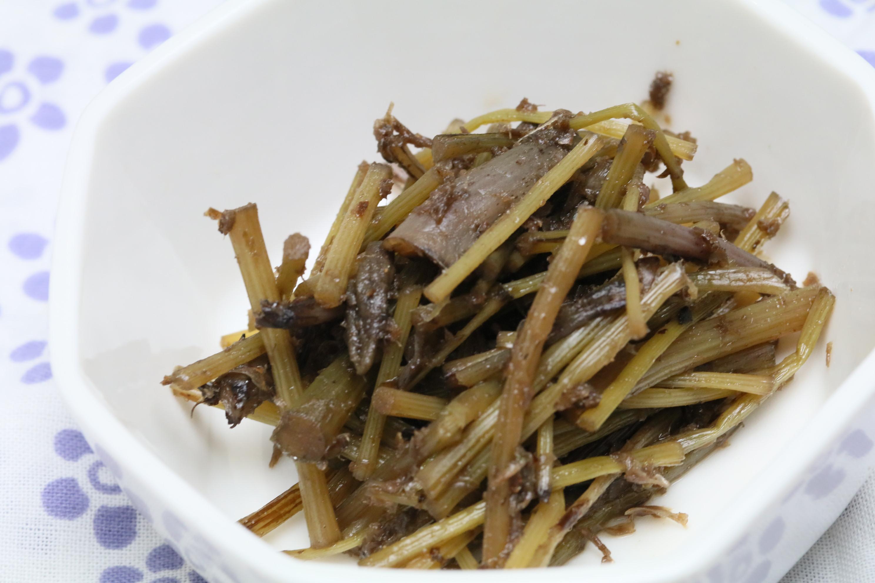 【食べやすい少量パック】山蕗の土佐煮 鰯節仕立て